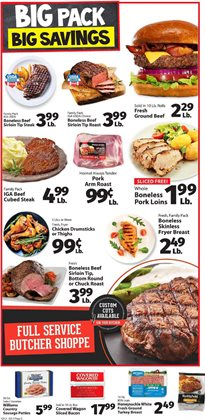 Storage deals in the IGA weekly ad in Acworth GA