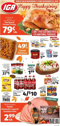 IGA deals in the Cary NC weekly ad