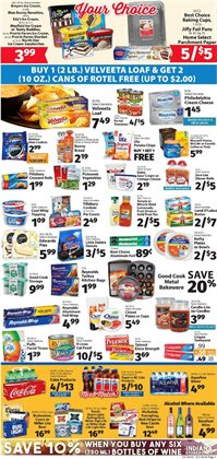 Furniture deals in the IGA weekly ad in Columbus OH