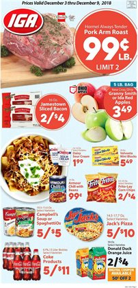 IGA deals in the Salt Lake City UT weekly ad