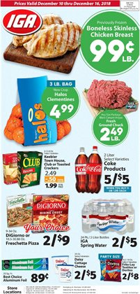 IGA deals in the Renton WA weekly ad