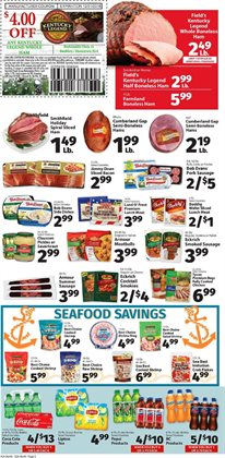 Ring deals in the IGA weekly ad in New York