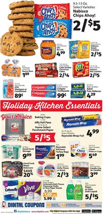 Toothpaste deals in the IGA weekly ad in New York