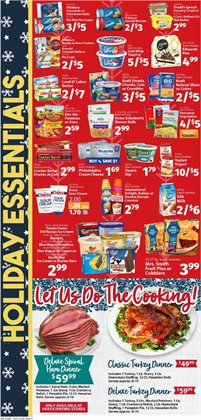 Potatoes deals in the IGA weekly ad in Poughkeepsie NY
