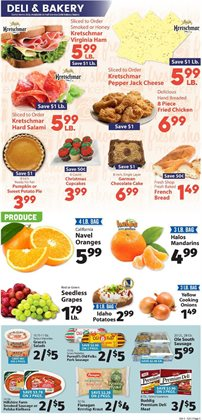 Saw deals in the IGA weekly ad in Schenectady NY