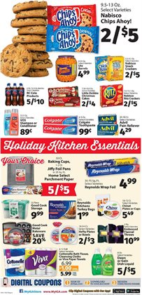 Toilet paper deals in the IGA weekly ad in Fontana CA