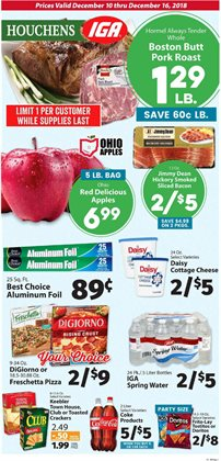 IGA deals in the Royal Oak MI weekly ad
