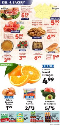 Fruit and vegetables deals in the IGA weekly ad in New York