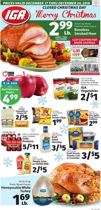 Milk deals in the IGA weekly ad in Poughkeepsie NY