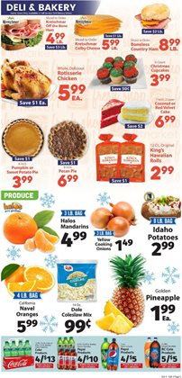 Bakery deals in the IGA weekly ad in Norcross GA