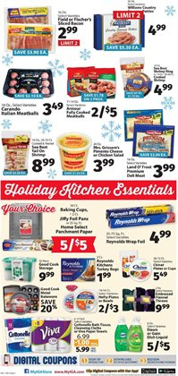 Kitchen deals in the IGA weekly ad in New York