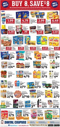Water deals in the IGA weekly ad in San Jose CA