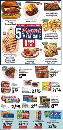Tyson deals in the IGA weekly ad in Flushing NY