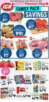 Halloween deals in the IGA weekly ad in Olympia WA