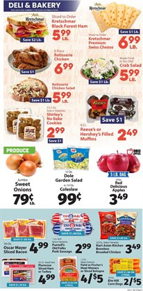 Slacks deals in the IGA weekly ad in New York