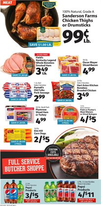 Furniture deals in the IGA weekly ad in New York