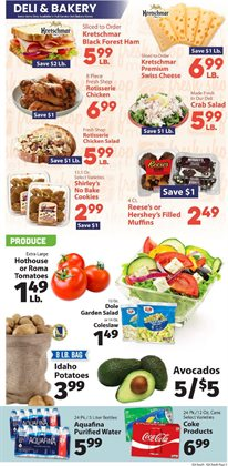 Water deals in the IGA weekly ad in Delray Beach FL