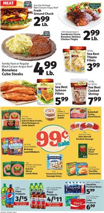 Chicken deals in the IGA weekly ad in Vacaville CA