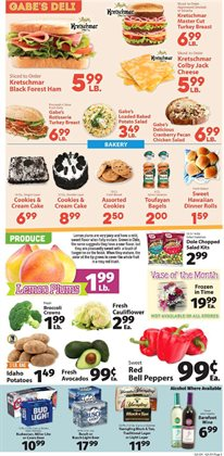 Decoration deals in the IGA weekly ad in New York