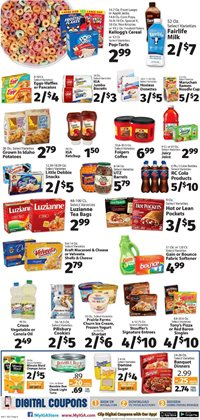 Milk deals in the IGA weekly ad in Philadelphia PA