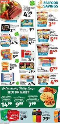 Beef deals in the IGA weekly ad in New York