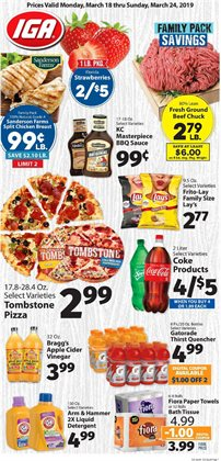 Grocery & Drug deals in the IGA weekly ad in Seattle WA