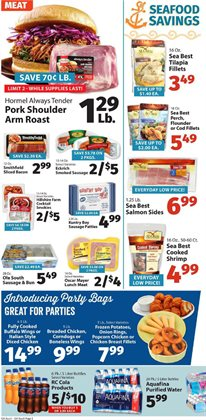 Snacks and nuts deals in the IGA weekly ad in New York