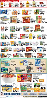 Gel deals in the IGA weekly ad in New York