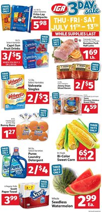 Grocery & Drug deals in the IGA weekly ad in Atlanta GA