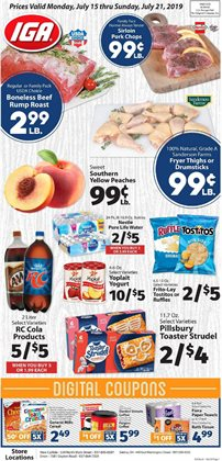 IGA deals in the San Diego CA weekly ad
