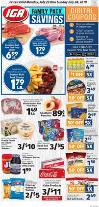 IGA deals in the Norwalk CT weekly ad