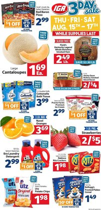 Grocery & Drug deals in the IGA weekly ad in Jacksonville FL