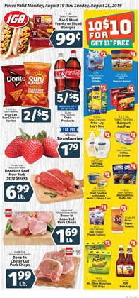 IGA deals in the Miami FL weekly ad
