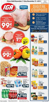 IGA deals in the Scottsdale AZ weekly ad