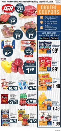 IGA deals in the Warwick RI weekly ad