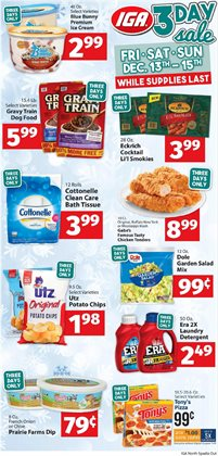 IGA deals in the Tonto Basin AZ weekly ad