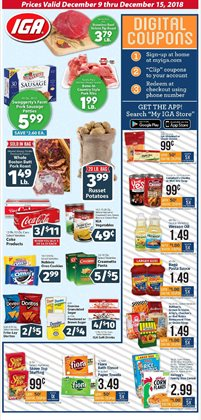 Grocery & Drug deals in the IGA weekly ad in Youngstown OH