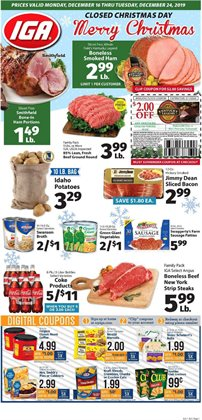 IGA deals in the Philadelphia PA weekly ad