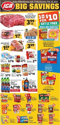 IGA catalogue in Pittsburgh PA ( Expires tomorrow )