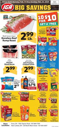 Grocery & Drug offers in the IGA catalogue in Newark OH ( 1 day ago )