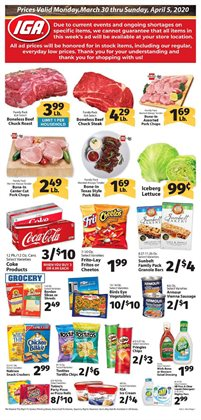 IGA catalog ( 2 days ago)