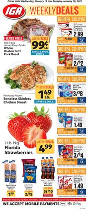 Grocery & Drug offers in the IGA catalogue in Salisbury NC ( Expires tomorrow )