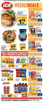 IGA catalogue ( Expires today )