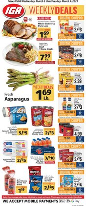 IGA catalogue ( 3 days ago )