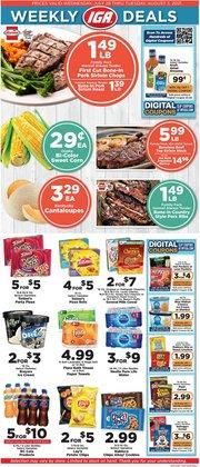 Grocery & Drug deals in the IGA catalog ( 5 days left)