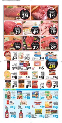 Pizza deals in the IGA weekly ad in Miami FL