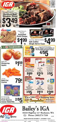 IGA deals in the Manchester NH weekly ad