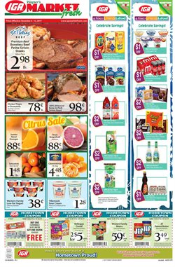 IGA deals in the Rochester NY weekly ad
