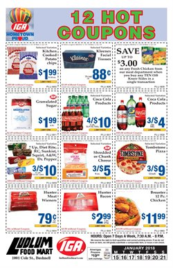 IGA deals in the Bowling Green KY weekly ad