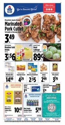 KTA Super Stores catalogue ( Expires tomorrow )